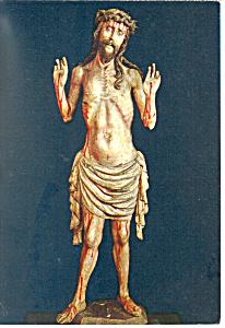 Suffering Christ Townhall of Neustadt,Germany Postcard cs1956 (Image1)