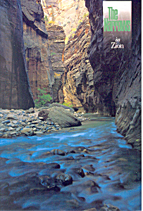 Zion National Park UT Postcard 2001 (Image1)