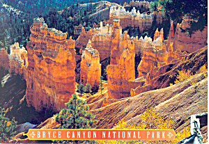 Bryce Canyon National Park UT Postcard 2002 (Image1)