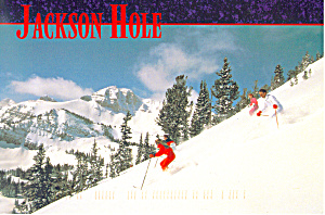 Jackson Hole, Wyoming Postcard 1997 (Image1)