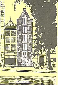 The Old Dutch Restaurant Amsterdam Netherlands Postcard cs2001 (Image1)