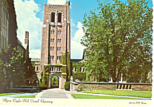 Myron Taylor Hall  Cornell University Postcard cs2024 (Image1)