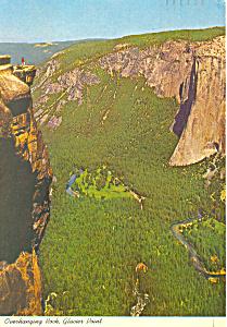 Glacier Point, Yosemite, CA Postcard 1981 (Image1)