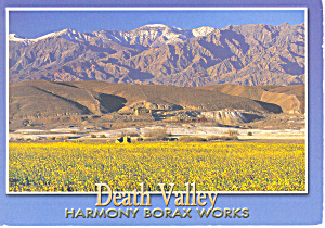 Harmony Borax Works, Death Valley, CA Postcard 2002 (Image1)