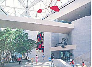 Interior Ground Floor National Gallery Of Art Washington DC Postcard cs2029 (Image1)