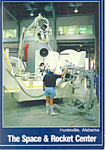 Space and Rocket Center,Huntsville,AL Postcard 1992 (Image1)
