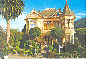 Gingerbread Mansion, Ferndale, CA Postcard 1990 (Image1)