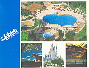 Leigh Corp Room Offer at Disney World  Postcard cs2050 (Image1)
