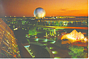 Future World Disney World  Postcard (Image1)