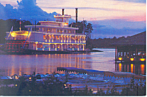 Empress Lilly at Night Disney World  Postcard (Image1)