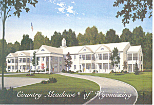 Country Meadows of Wyomissing  PA  Postcard cs2082 (Image1)