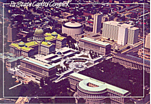 State Capitol Complex Harrisburg PA  Postcard cs2085 (Image1)