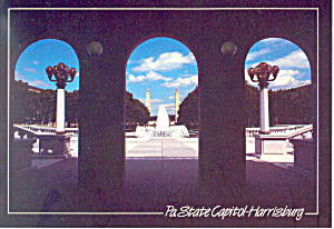 State Capitol Complex, Harrisburg, PA  Postcard (Image1)