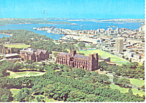Panoramic View Sydney Australia Postcard cs2097 (Image1)