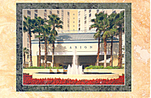 Clarion Plaza Hotel Orlando Florida Postcard cs2118 1992 (Image1)