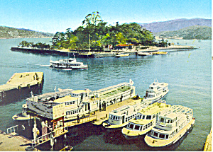 Toba Bay Ise Shima National Park Japan Postcard cs2121 (Image1)