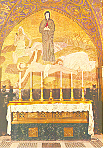 Chapel of the Crucifixion, Jerusalem, Israel Postcard (Image1)