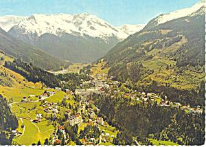 Weltkurort Bad Gastein (1083m) Postcard (Image1)