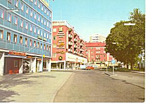 Jonkoping Sweden Vastra Storgatan Postcard cs2162 (Image1)