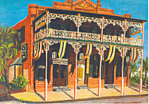 Harbor House Key West Florida Postcard cs2227 (Image1)