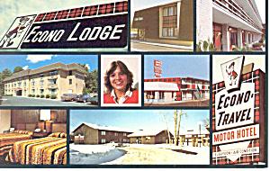 Econo Travel Motor Hotel Virginia Postcard cs2240 (Image1)