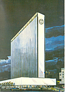 New York Hilton, Rockefeller Center Postcard Cs2252