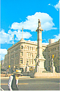 Soldiers Monument Lancaster,Pennsylvania Postcard (Image1)