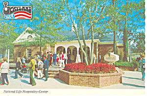 National Life Hospitality Center,Opryland,TN Postcard (Image1)