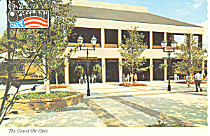 The Grand Ole Opry, Opryland,TN Postcard (Image1)
