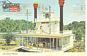 Showboat Theatre, Opryland,TN Postcard (Image1)
