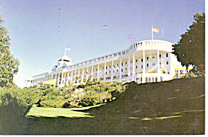 Grand Hotel Mackinac Island Michigan Postcard cs2305 (Image1)