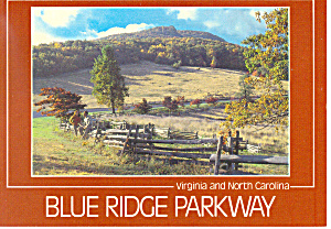 Blue Ridge Parkway, Virginia  Postcard (Image1)