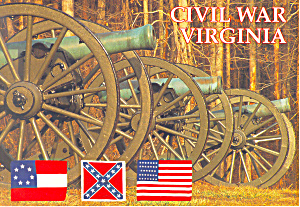 The Civil War, Virginia Postcard (Image1)