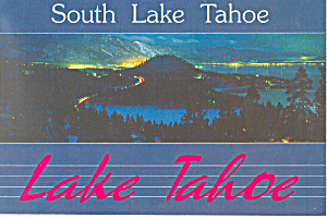 South Lake Tahoe  Postcard (Image1)