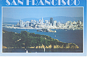 San Francisco CA From Marin County  Postcard cs2329 (Image1)