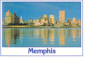 Memphis Tennessee Postcard (Image1)
