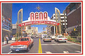 Reno Nevada Postcard cs2338 (Image1)