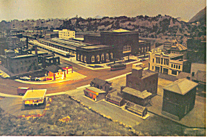 Chattanooga,TN Largest HO Layout Postcard cs2363 (Image1)