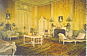 Mrs Vanderbilt's Bedroom, Newport RI Postcard (Image1)