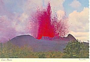 Volcano Eruption Kapoho Hawaii  Postcard cs2388 (Image1)