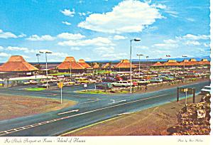 Ke Ahole Airport Kona,Hawaii  Postcard cs2402 (Image1)