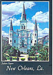 Jackson Square,New Orleans,Louisiana Postcard (Image1)