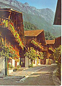 Brienz Be Switzerland Postcard Cs2443