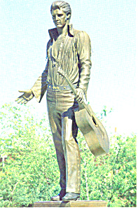 Elvis Presley Statue,Memphis,Tennessee Postcard (Image1)