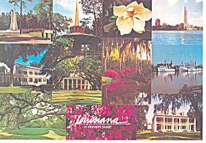 Louisiana a Dream State Postcard cs2464 (Image1)