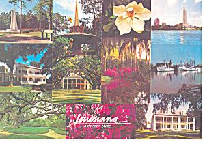 Louisiana a Dream State Postcard cs2464 (Image1)