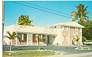 New Royal Tern Motel Naranja Florida Postcard cs24847 (Image1)
