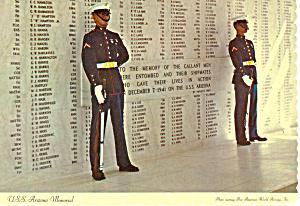 USS Arizona Memorial, Hawaii Postcard (Image1)