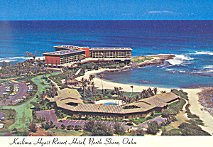 Kuilima Hyatt Resort Hotel, Hawaii Postcard (Image1)