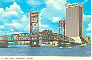 Main Street Bridge Jacksonville Florida Postcard cs2515 (Image1)